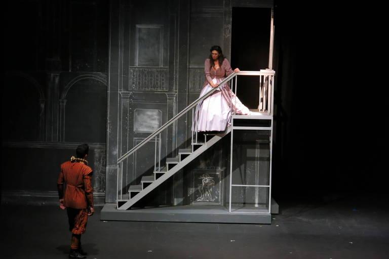 Cena da ópera 'Romeu e Julieta'