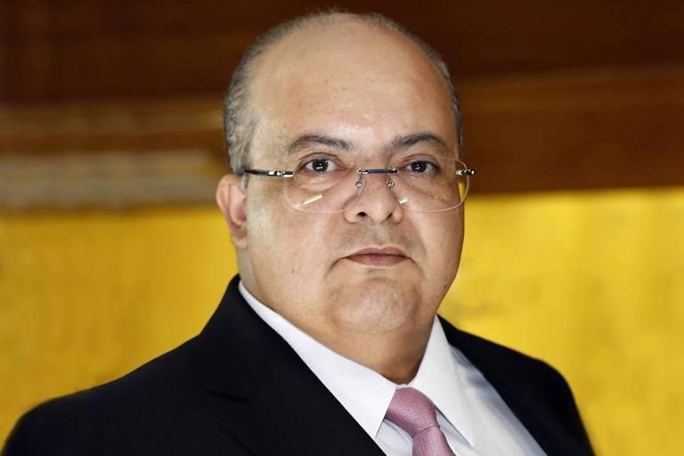 O governador do Distrito Federal Ibaneis Rocha