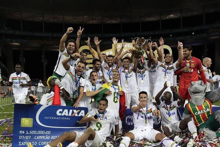 Sampaio Corrêa é campeão da Copa do Nordeste de 2018
