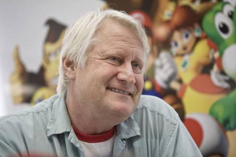 SAO PAULO - SP - 31.03.2010 -  Charles Martinet, dublador do Mario Bros, dos jogos de videogame. (Rodrigo Capote/ Folha Imagem FOLHATEEN). ***EXCLUSIVO FOLHA*** 4587