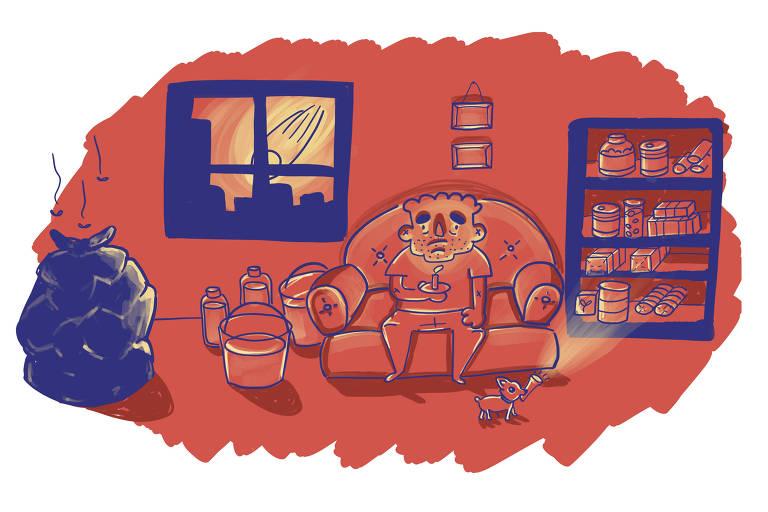 """Ilustração para Corrida """"O que fazer em caso de apocalipse"""""""