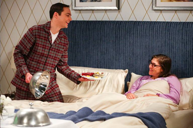 Cena de 'The Big Bang Theory'