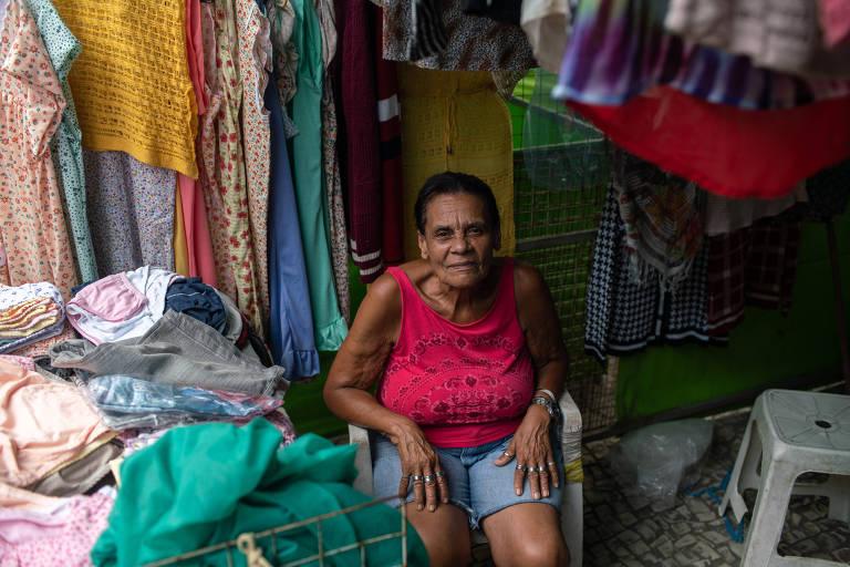 Maria Euzina Roberto, 74, não fez o cadastramento biométrico e teve seu título cancelado