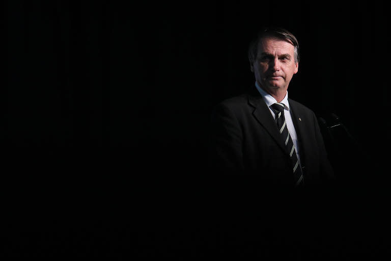 Jair Bolsonaro (PSL), que lidera a corrida presidencial
