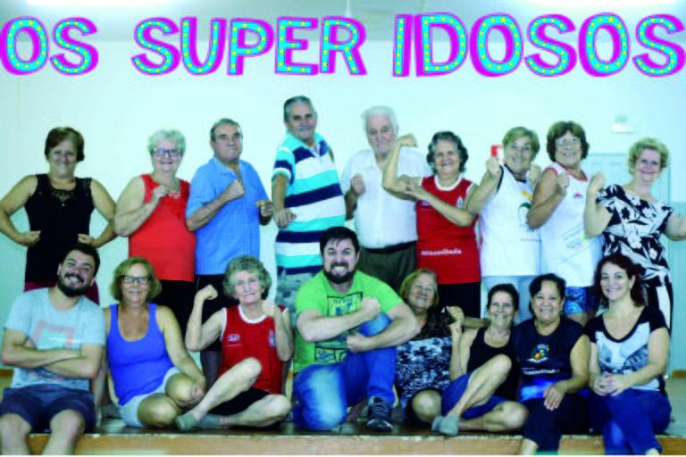 Grupo paulista de acrobatas idosos vira filme