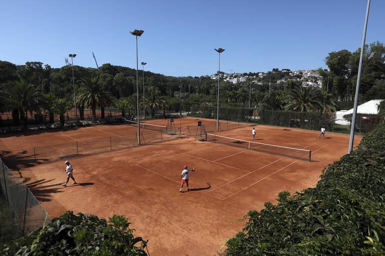 O Clube de Tênis do Jamor, em Algés, onde Carlos Ramos jogou na infância