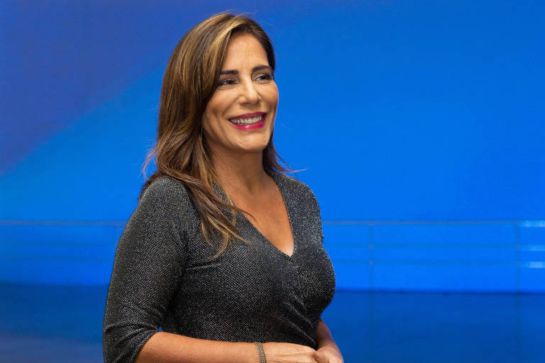 A atriz Gloria Pires