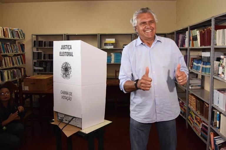 Governadores eleitos no primeiro turno