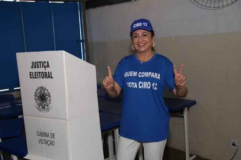 Katia Abreu vota to Tocantins