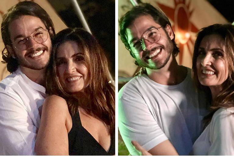 Antes e depois de Túlio Gadêlha, namorado de Fátima Bernardes
