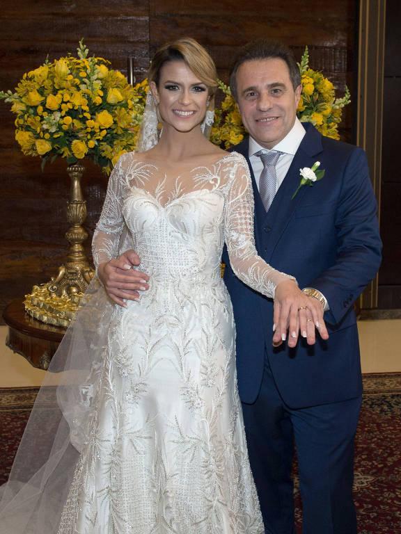 Casamento da da chef Beca Milano e do diretor Fernando Pelegio