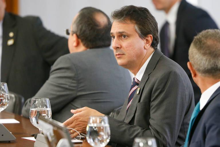 O governador do Ceará, Camilo Santana (PT)