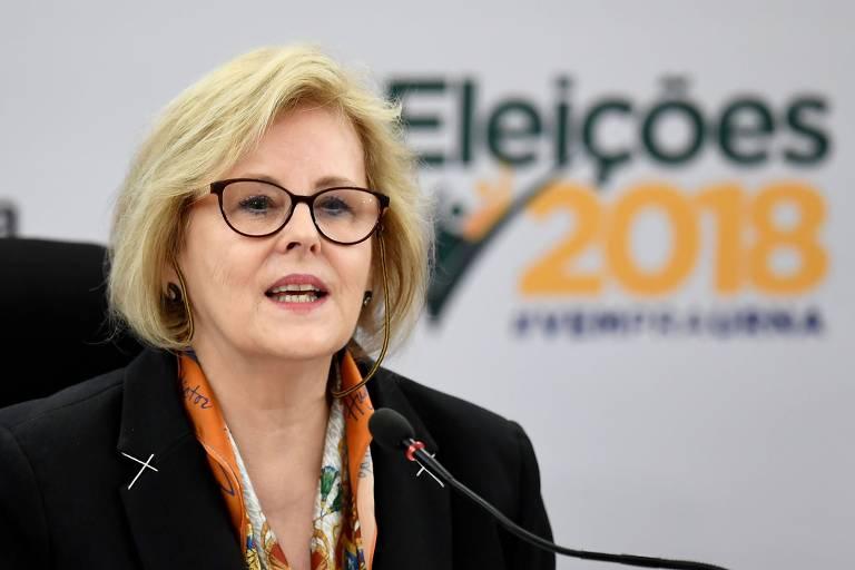 A presidente do TSE (Tribunal Superior Eleitoral), ministra Rosa Weber