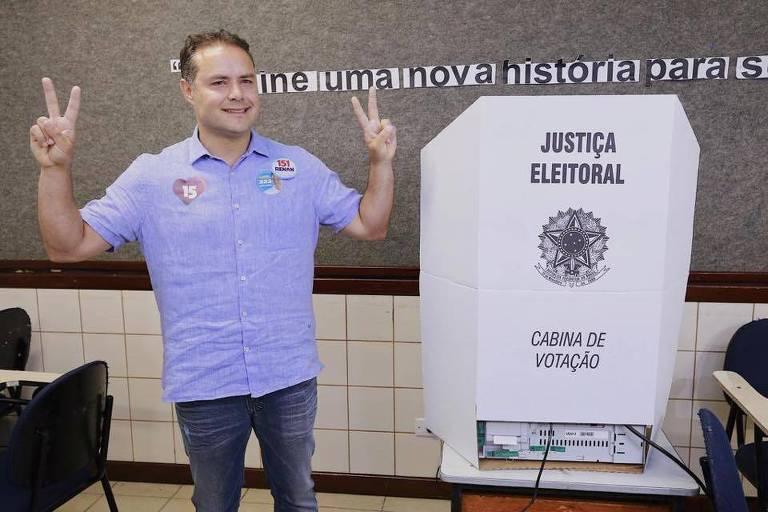 Renan Filho (MDB), reeleito para novo mandato como governador de Alagoas