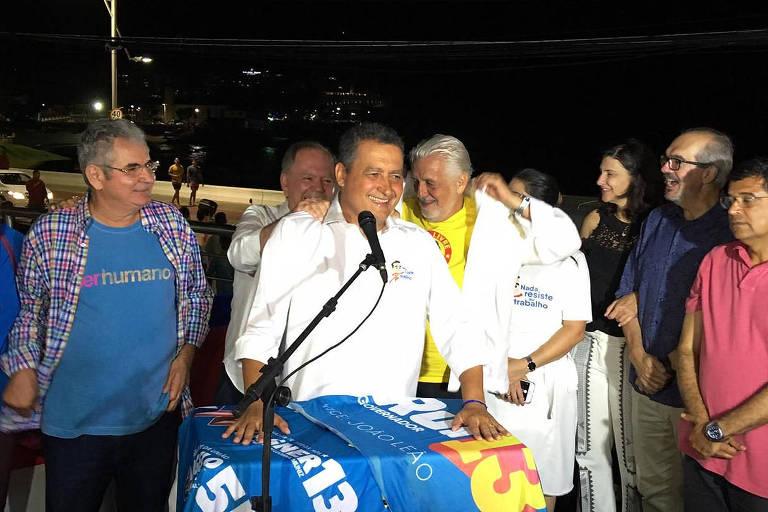 O governador reeleito da Bahia, Rui Costa (PT)