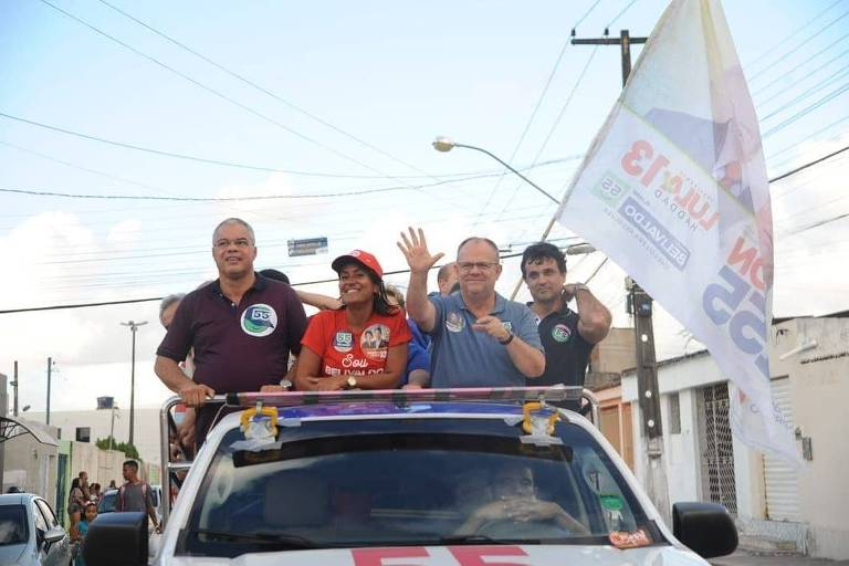 Belivaldo Chagas (PSD), candidato ao governo do Sergipe