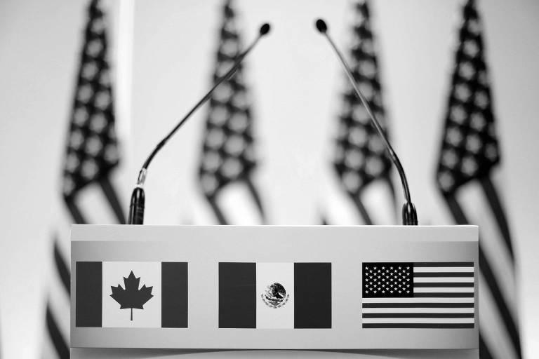 Canadá, Méxicos e EUA preservaram o Nafta, agora rebatizado