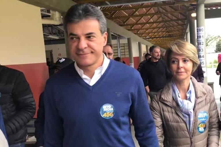 O ex-governador do Paraná Beto Richa (PSDB), que tinha sido preso novamente, mas foi solto por decisão do STJ