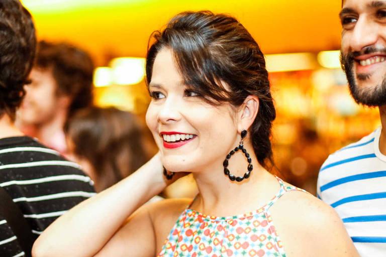 Samara Felippo, durante a pré-estreia de 'Mulheres Ácidas', no ano passado