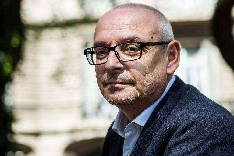 O historiador italiano Loris Zanatta em Buenos Aires, na Argentina