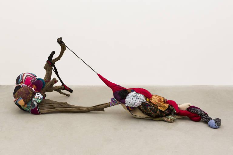 Esculturas de Sonia Gomes