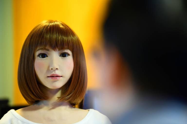 Um robô chamado Erica