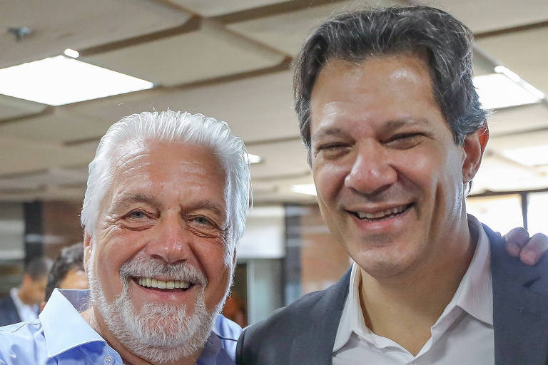 Candidato Fernando Haddad e Jaques Wagner