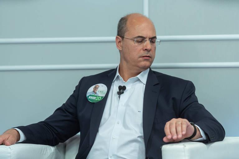 Wislon Witzel (PSC), que disputará o segundo turno para o governo do Rio com Eduardo Paes (DEM)