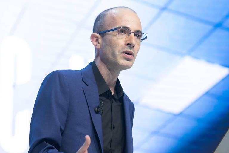 Historiador Yuval Noah Harari, 43; ele acredita que a inteligência artificial e o aprendizado de máquina podem incentivar sistemas de governo centralizados