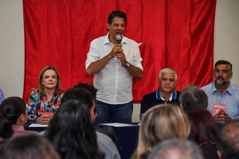 Candidato Fernando Haddad (PT)