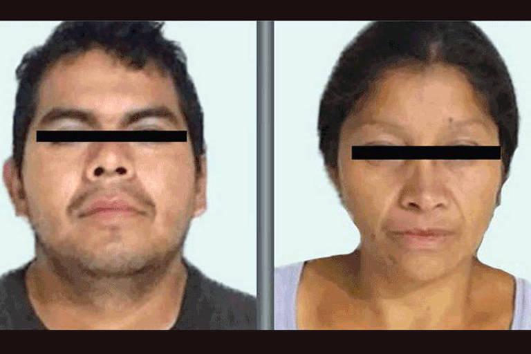 Promotoria do Estado do México havia publicado anúncio procurando o casal suspeito do desaparecimento de uma mulher
