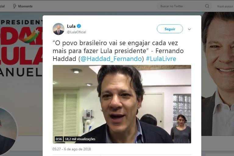 Comprova: Vídeo em Haddad diz que Lula 'vai subir a rampa' no dia 1º de janeiro é verdadeiro, mas antigo