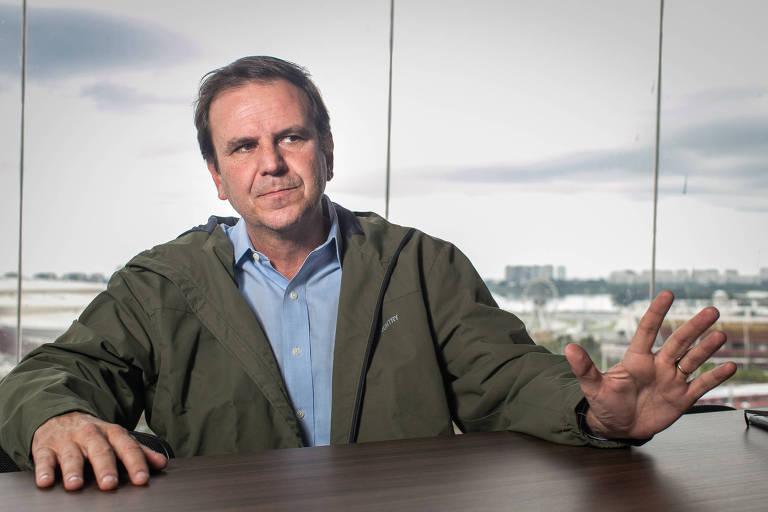 Eduardo Paes, candidato ao governo do Estado do Rio pelo DEM