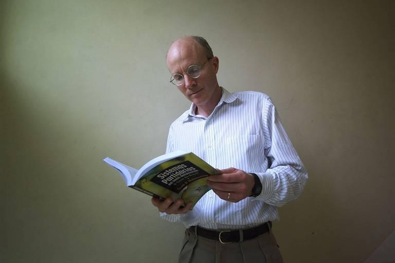 O cientista político americano Scott Mainwaring, em encontro da Anpocs (Associação Nacional de Pós-Graduação e Pesquisa em Ciências Sociais), em Caxambu (MG)