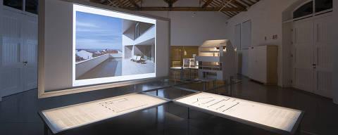Mostra 'Infinito Vão', na Casa da Arquitectura, em Matosinhos, em Portugal crédito:  Divulgação