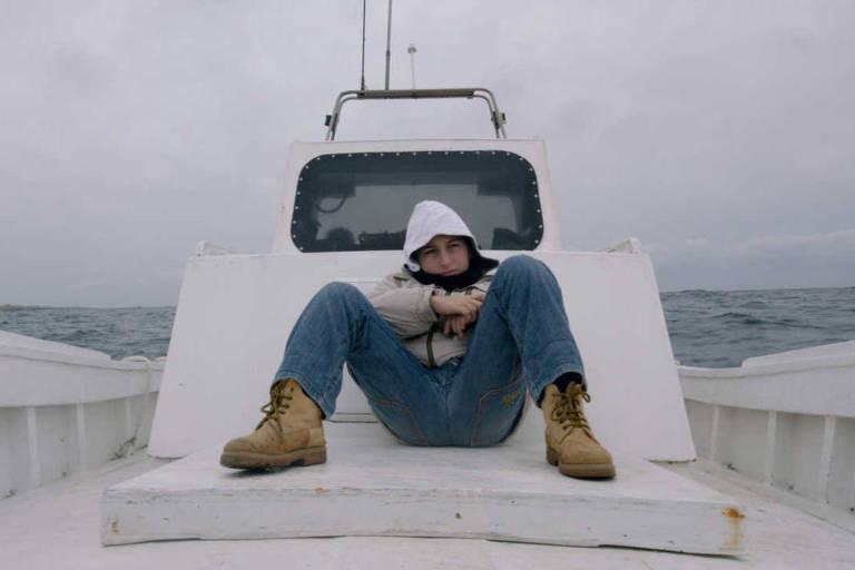 """Cena do documentário """"Fogo no Mar"""", indicado ao Oscar e vencedor do prêmio Urso de Ouro no Festival de Berlim"""