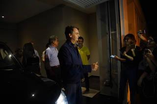O presidenciável Jair Bolsonaro (PSL) concede entrevista no Rio