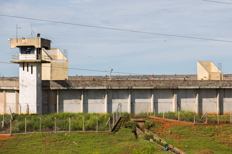 Penitenciária de Presidente Venceslau, no interior de São Paulo
