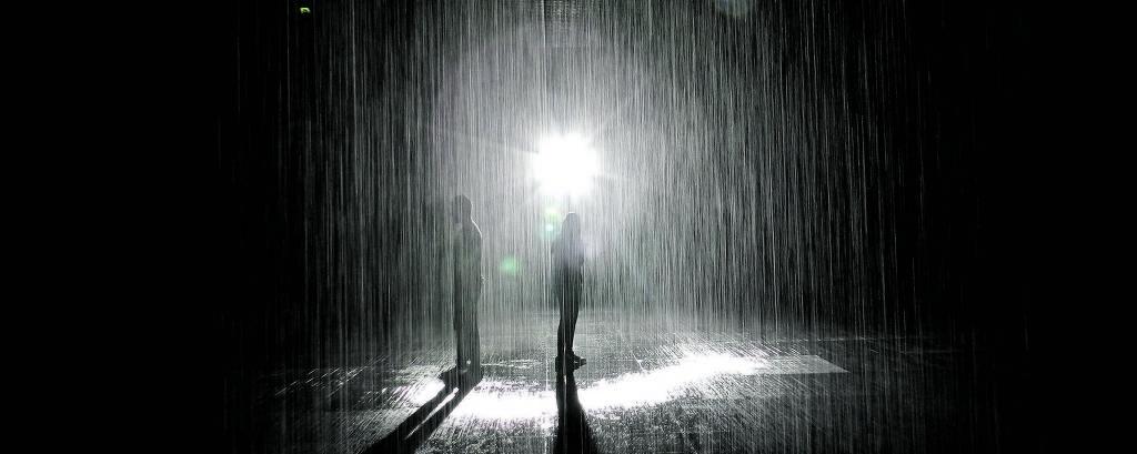 A instalação 'Rain Room'