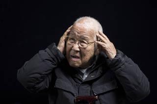 ***Especial Sobreviventes das bombas atomicas no Japao durante 2a Guerra Mundial sao atendidos em projeto especial do Hosp Santa Cruz (na Vila Mariana) em parceria com governo japones. Entrevista com o Senhor Takashi Morita, 94 anos