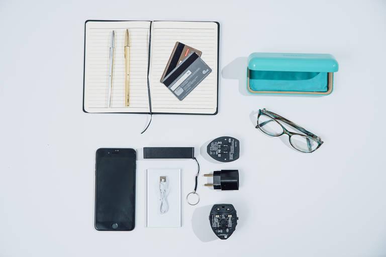 Objetos que devem estar na mala de mão