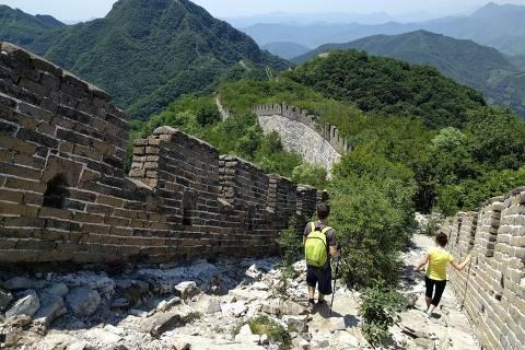 Trecho da Muralha da China