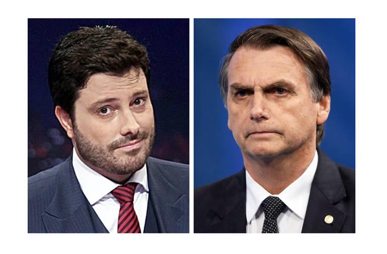 São piadas e faz parte do jogo, diz Bolsonaro sobre condenação de Gentili