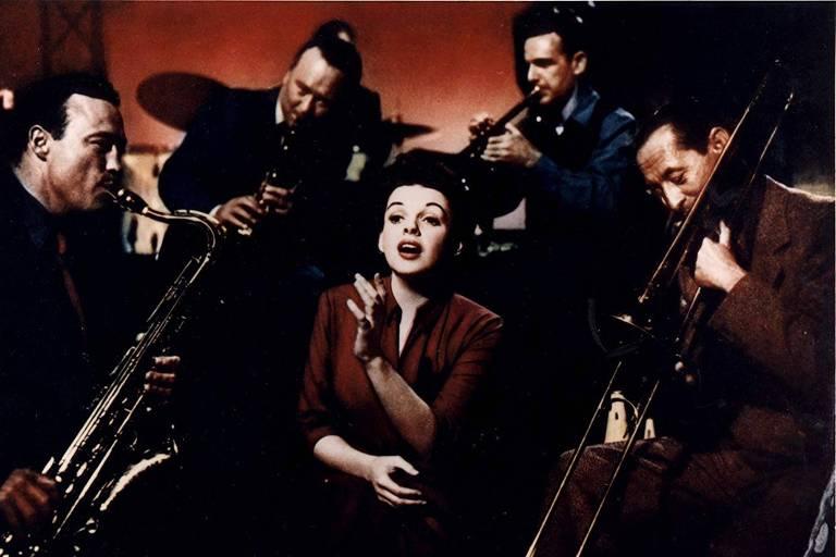 Judy Garland em 'Nasce uma Estrela' (1954)