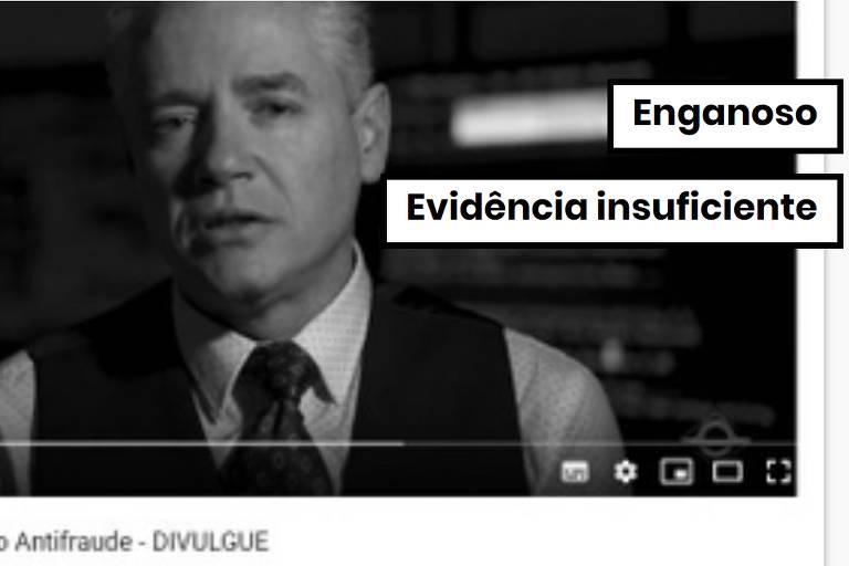 Comprova: Vídeo com suspeitas sobre eleições usa lei matemática que não prova fraude