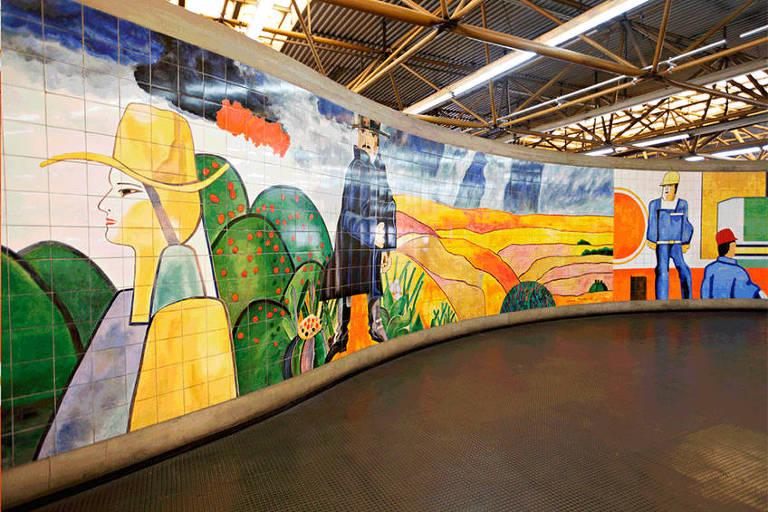 Mural de Aldemir Martins