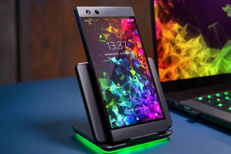 Razer Phone 2 é lançado durante a BGS 2018 e foi pensado para o público gamer