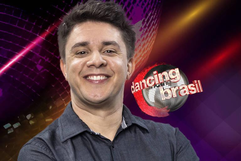 Oscar Filho é um dos concorrentes do programa Dancing Brasil