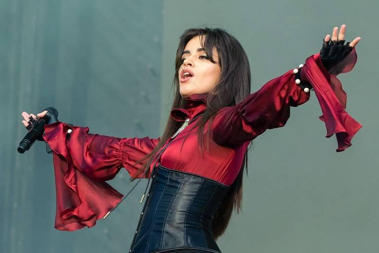 Camila Cabello, que vem pela primeira vez ao Brasil com seu álbum solo