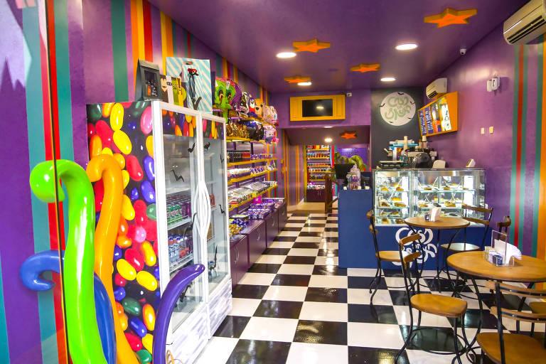 Casa da Bruxa, franquia da loja de doces em Moema
